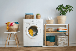 Laundry Room with a Washing Machine — Columbus, OH — Capital City Appliance Service