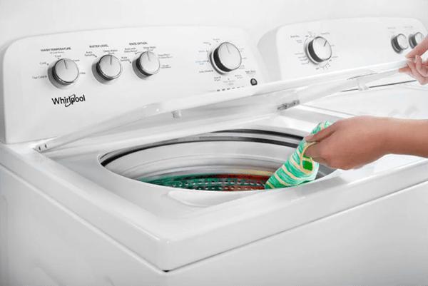 whirlpool top load washer won't unlock